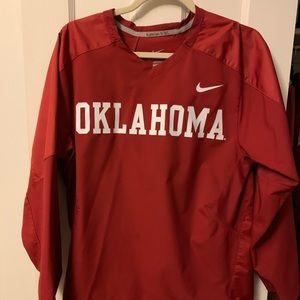 Nike OU Windbreaker pullover